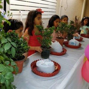 Mini Garden in Tray.(Kids Workshop)